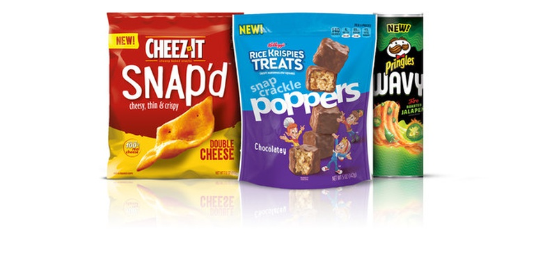 Kellogg expanding Cheez-It, Pringles and Rice Krispies with new snack offerings
