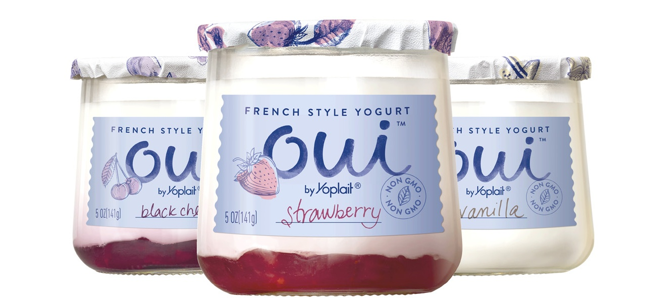 Oui yogurt by Yoplait