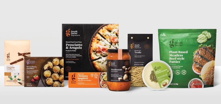 Target adds premium products to its Good & Gather line