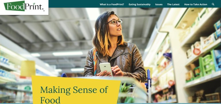 fooddive.com - Lillianna Byington - New website helps consumers eat food that lines up with their sustainability and social values