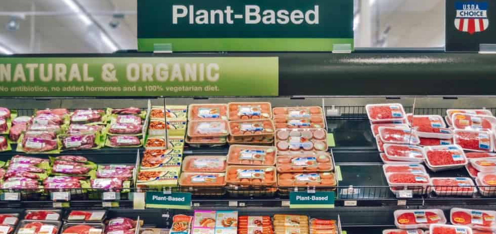Plant-based products sell 23% better in the meat section, study finds