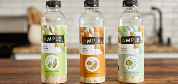 Ample meal replacement powders