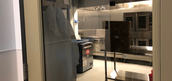 Ingredion's kitchen at The Hatchery