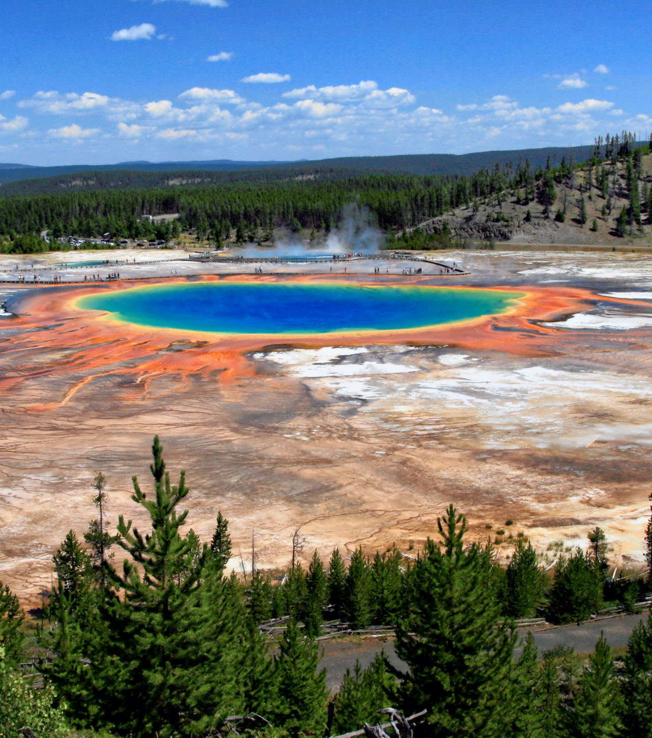 Prismatic Spring, Yellowstone National Park