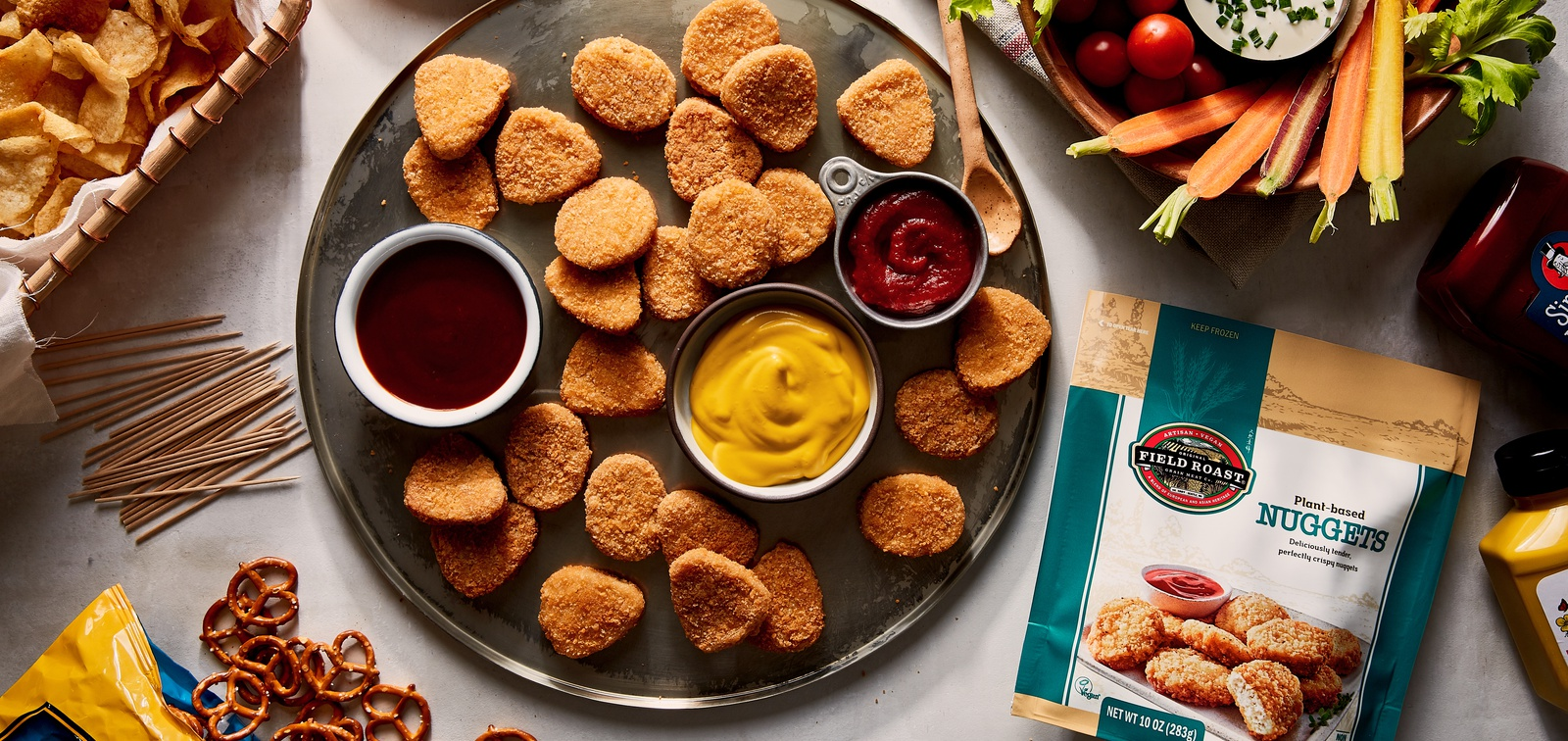 Field Roast launches Plant-Based Nuggets