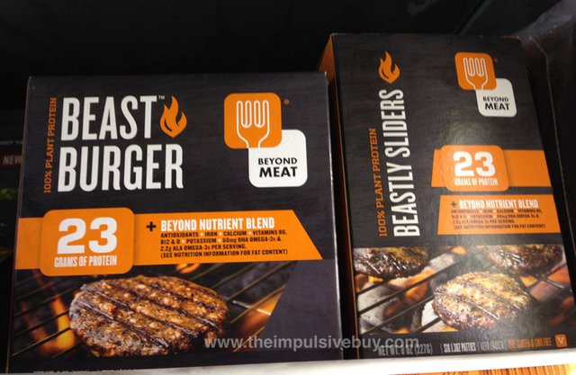 Beyond Meat Beast Burger food startup