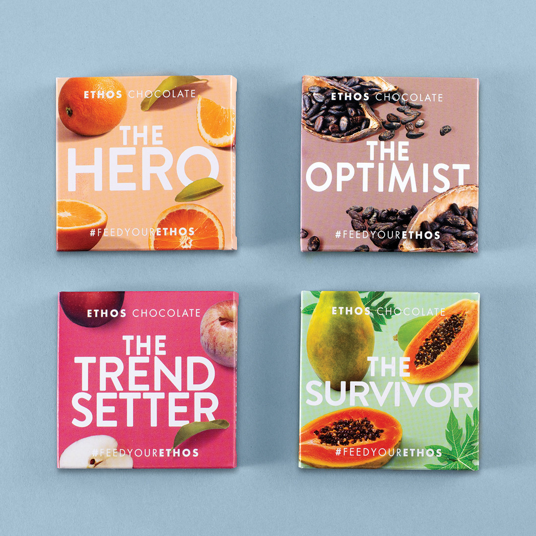 Ethos Chocolate varieties