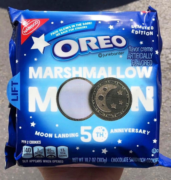 Marshmallow Moon Oreo