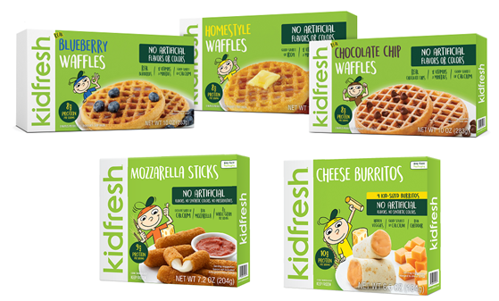 New Kidfresh products