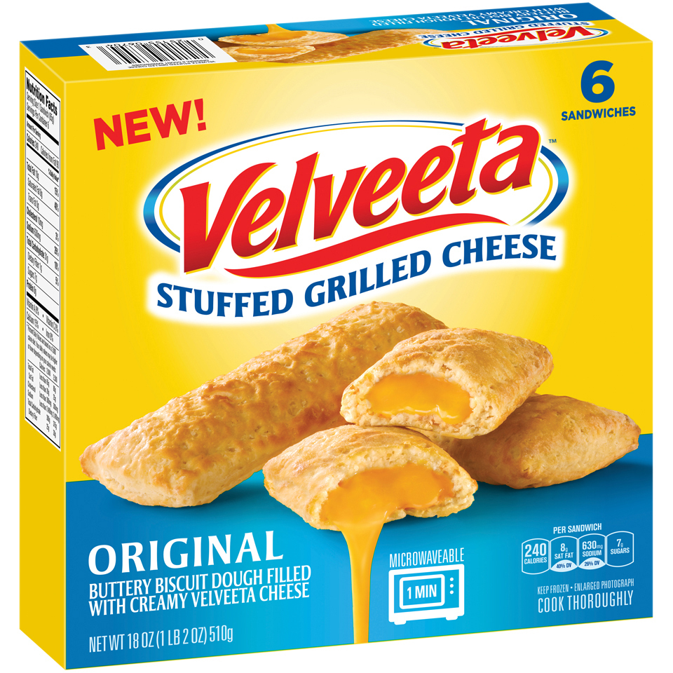 Velveeta Stuffed Grilled Cheese