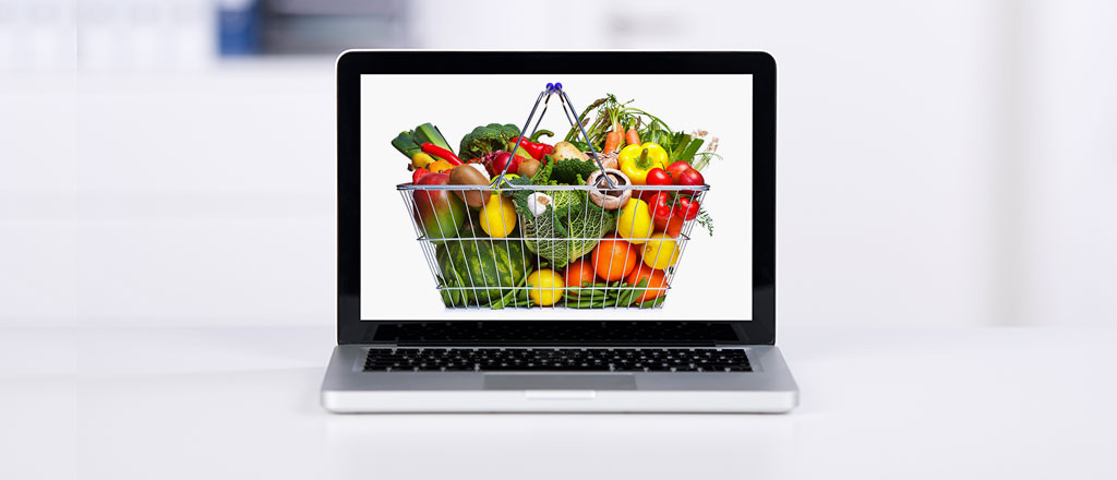 online and brick-and-mortar integration for grocery stores