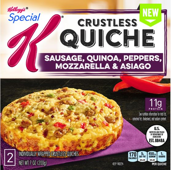 Special K Crustless Quiche